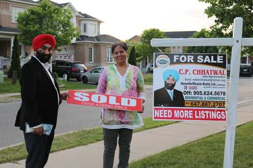 142 Seaside  Circ , Brampton,  sold, , C.P. Chhatwal, HomeLife/Miracle Realty Ltd., Brokerage *